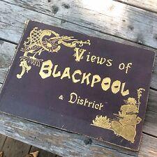 Vintage Photo Book - Views of Blackpool District