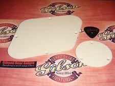 Les Paul Cavity Plate Set Creme Standard Control Custom Cover Guitar Parts Cream