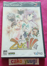 ZWEI!! TAITO NEUF NEW SONY PLAYSTATION 2 NTSC JAP SOUS BLISTER ABIME 100% JAP