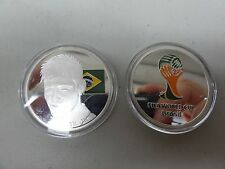 CHALLENGE COIN FREE CAPSULE SHIPPING NEYMARJ JR FIFA WORLD CUP BRAZIL 2014