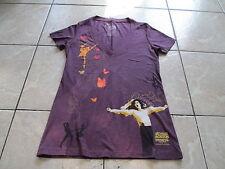 Michael Jackson The Immortal Cirque du Soleil Women T Shirt Size S Small