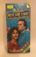 West Side Story Leonard Bernstein 2 Cassette Boxset Kiri Te Kanawa Jose Carreras