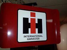 International Harvester Tractor Nostalgic Spinning Advertising Sign 2 Sided