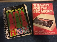 BBC Micro Instruction Manual And Game Book