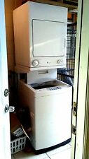 Washer and Dryer General electric stackable