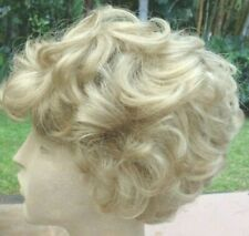 Japanese/Korean Made Short, Fluffy & Curly Blond Wig for Costumes or Reg. Wear