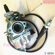 Carb For Honda CRF150F CRF 150F Carburetor & Throttle Cable Hand Choke US Seller