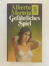 Alberto Moravia Gefährliches Spiel Roman Thriller rororo Verlag