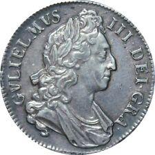 1696 William III CORONA. en octavo. extremadamente fino. Spink ef £ 3000.00