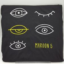 Maroon 5 Concert Tshirt 2013 Eyes Black Green Womens L Usa