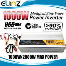1000W/2000W 12V-240V Modified Sine Wave Power Inverter