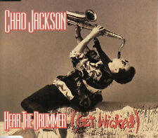 "Chad Jackson - Hear The Drummer (3"") Mini Pock it CD 1990 Electronic Breakbeat"