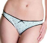 Brand New Cleo by Panache Maddie Short Brief 7882 Teal Size XL//16   SALE