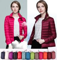 UNIQLO'S Factory Sale! Women's 90% Duck Down Jacket Puffer Coat Ultralight New