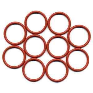 10 x O-Ring für den Kolben der Saeco Brühgruppe / 32x4 mm Mat.: VMQ Silikon