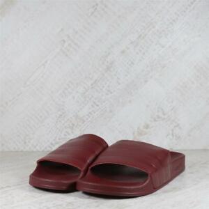 Mens Adidas Adilette Burgundy Slides (TGF48) RRP £29.99