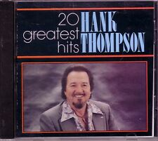 HANK THOMPSON Greatest Hits CD Classic 60s Country TEARS ARE RAIN SIX PACK TO GO