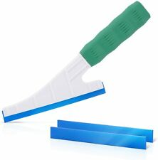 """6.5"""" Handle Rubber Squeegee w/ 2 Refills for Car Washing Window Tint Clean Tools"""