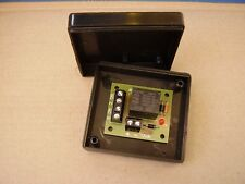 12vdc Micro Handy little Relay board in a black box, ideal for security
