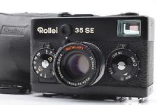 【MINT + Case 】 Rollei 35 SE Sonnar 40mm f/2.8 BLACK 35mm Film Camera JAPAN #427