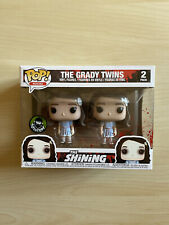 FUNKO POP MOVIES Shining THE GRADY TWINS 2-Pack PopCultcha Exclusive no chase