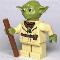STAR WARS lego YODA jedi master GENUINE 75208 NEW swamp YODA'S hut mini figure