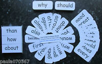 Year 3 'High frequency flash cards x 79' Special educational needs / Autism