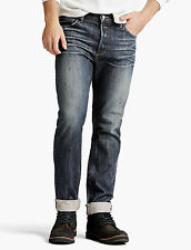 LUCKY BRAND Miwok Dark Wash 1 Authentic Skinny LEGEND Selvedge Jeans 28 x 32 NWT