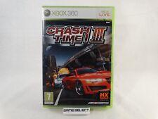 CRASH TIME III CRASHTIME 3 MICROSOFT XBOX 360 PAL ITA ITALIANO NUOVO SIGILLATO