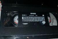 Sphere (VHS, 1998) Dustin Hoffman