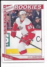 2013-14 O-Pee-Chee # 519 Dan DeKeyser Detroit Red Wings Marquee Rookie RC