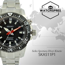 Seiko Men Diver Kinetic Sportura Watch SKA511P1