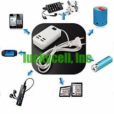 15W 4 Port HUB Portable Family Sized Desktop USB Intelligent 5V/3A Charger Power