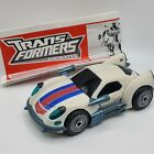 Transformers Jazz Animated Deluxe Class 2008 Robot Race Car Porsche Complete For Sale