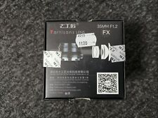 7 Handwerker 35mm f1.2 APS-C Manuell Focus Objektiv für Fuji X Mount Kameras-NEU