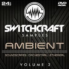 AMBIENT VOL 2 - 24BIT WAV STUDIO / MUSIC PRODUCTION SAMPLES - DVD