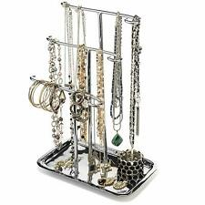 Necklace Holder Jewelry Stand Organizer Bracelet Display Ring Tray