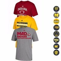 NCAA Adidas Various Team Graphic Logo T-Shirt Collection Men's