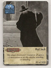 Spellfire 4th Edition Card M/NM 113/500 Red Jack