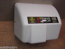 Excel HO-110 Hands Off Automatic Hot Air Hand Dryer Surface-Mount White120 volt