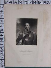 1844 DATED ANTIQUE PRINT ~ EDWARD ~ DUKE OF KENT & STRATHEARN