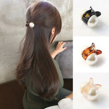 hair Women's Accessories 2 Coffee Plastic Hair Claw Clamp Clips 100mm Headwear Lady Women Hair Accessory