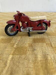 Matchbox Lesney RED Honda Motorcycle