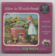 Alice in Wonderland 1950's View-Master Packet with Reels FT-20-ABC
