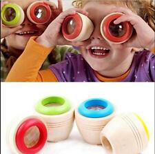 Wooden Educational Magic Kaleidoscope Learning Puzzle Toy Baby Kid Children Gift