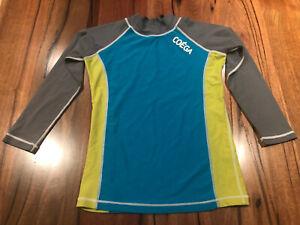 Kids | Coega | Long Sleeve | Rash Surf Swim Shirt Top - Size 12