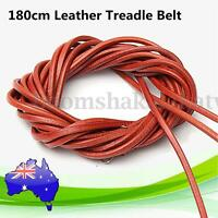 180cm Leather Treadle Belt Replacement Parts With Hook For Singer Sewing Machine