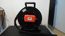 tactical fiber optic cable reel 500m broadcast 2 connectors, LC or SC or ST.