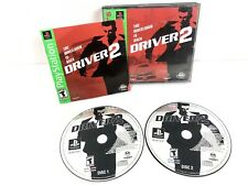 Driver 2 Greatest Hits PlayStation 2 Disc Complete w/ Manual