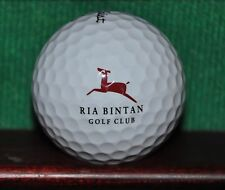 Ria Bintan Golf Club Bintan Island Indonesia logo golf ball. Titleist Pro V1.